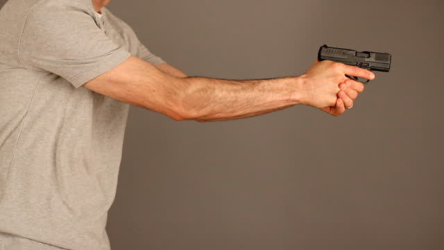 Concealed carry gun draw video