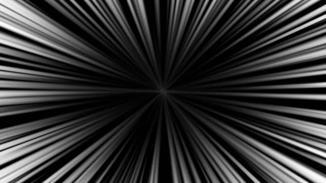 linea di concentrazione flare luce raggi solari sfondo vivo - concentrazione video stock e b–roll