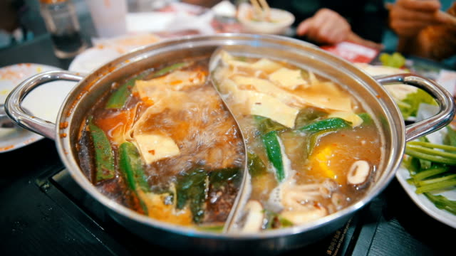 概念鍋アジア料理 ビデオ