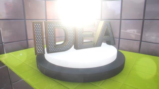 IDEA concept motion graphics