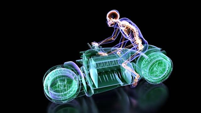 3D Concept Motorcycle Design