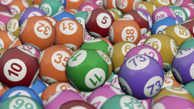 concetto di bingo - bingo video stock e b–roll