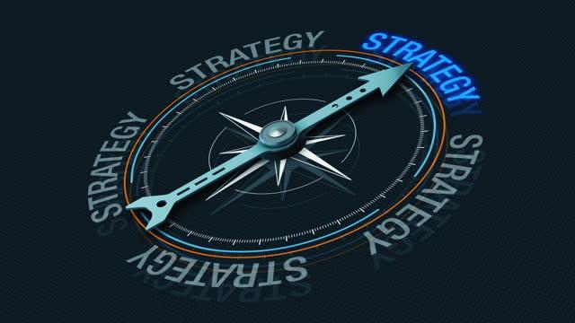 vídeos de stock, filmes e b-roll de conceito de estratégia de negócios - estratégia