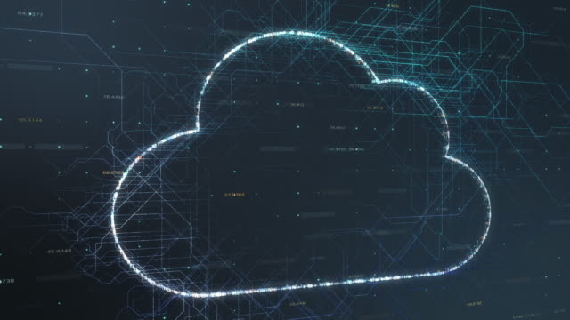 concept of cloud computing concept of cloud computing and big data (3d render) backup stock videos & royalty-free footage