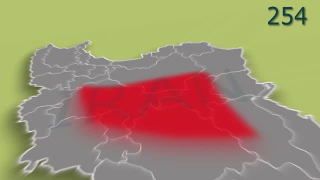 伊朗共同-19的概念, 冠狀病毒, ncov 2019, sars cov 2 爆發或蔓延到伊朗各地,病毒病例數量增加 - 伊朗 個影片檔及 b 捲影像