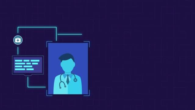 concept of telemedicine - telemedicine stock videos & royalty-free footage