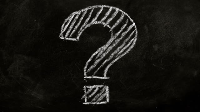 faq concept - question mark video stock e b–roll
