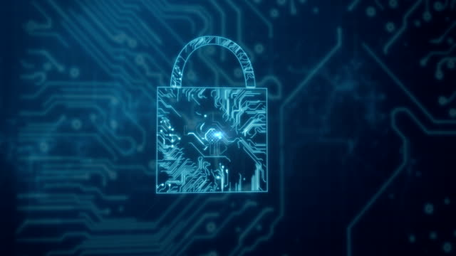 Conceptual video of circuit connection security Digitally generated conceptual video of circuit connection security safes and vaults stock videos & royalty-free footage