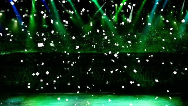 concert and confetti green light video