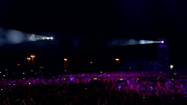 Concert Crowd Montage video