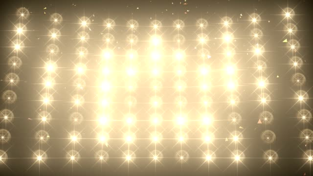 Concert light wall with falling confetti background Concert light wall with falling confetti background musical theater stock videos & royalty-free footage