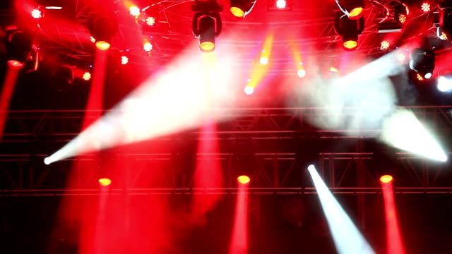 Concert lighting video