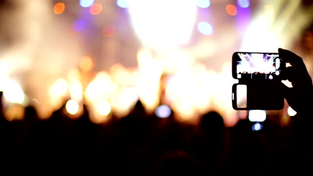 Concert recorded mobile phone video