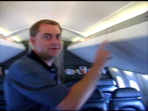 Concorde: Getting Into Aircraft Seat video