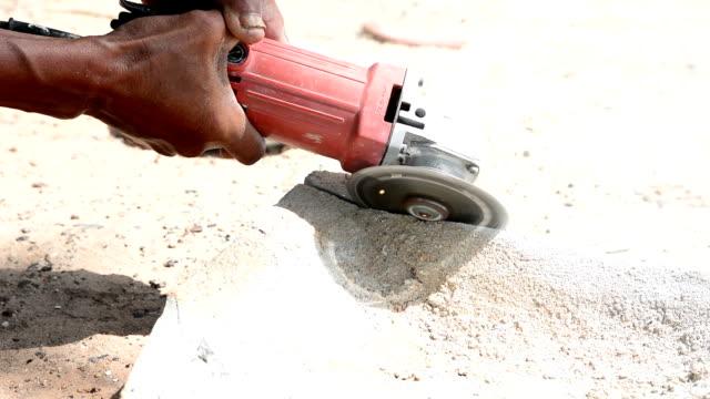 concrete floor cutting video
