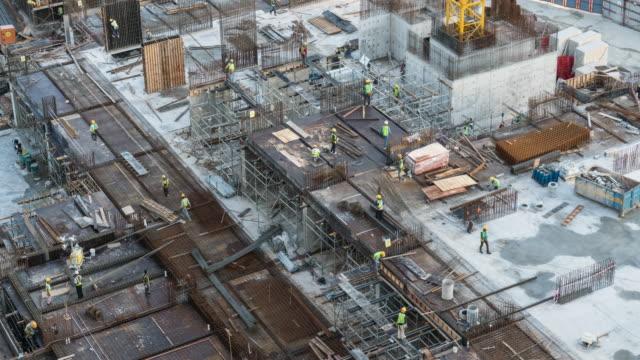 Concrete Pour (Construction) video