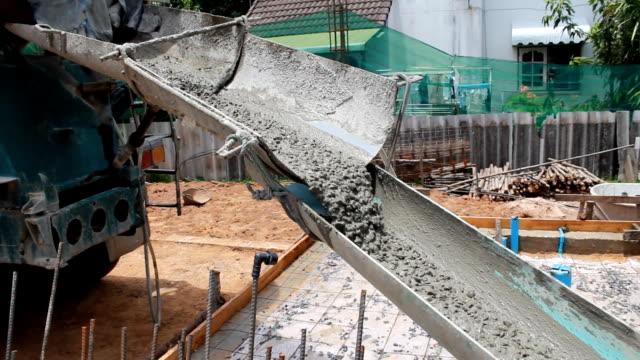 concrete mix video