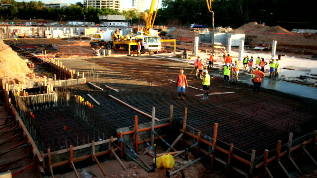 Concrete Pour (Construction) video