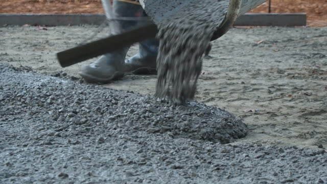 Concrete Pouring out video