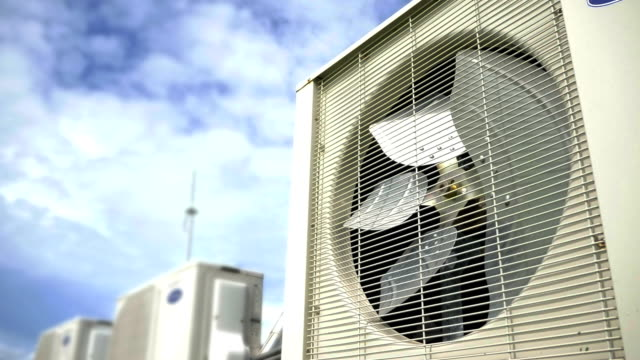 Condensing unit of air conditioner video
