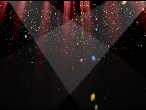 Confetti Curtain video