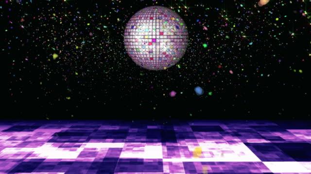 confetti disco - dansbana bildbanksvideor och videomaterial från bakom kulisserna