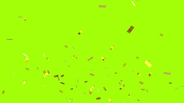 konfetti fällt - confetti stock-videos und b-roll-filmmaterial