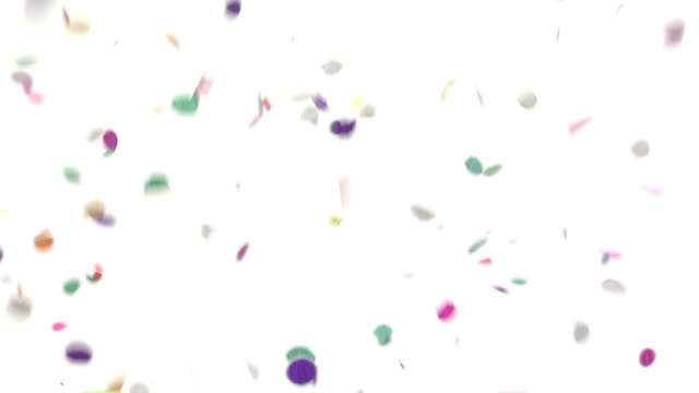 Confetti Falling video