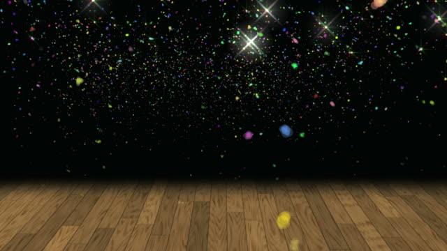Confetti Glitter Background Loop video