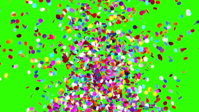 Confetti Party Popper Explosion video