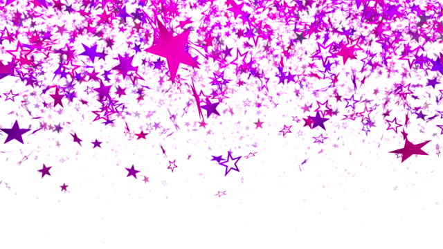 Royalty free pink glitter hd video 4k stock footage b roll istock confetti stars falling against a white background video altavistaventures Gallery