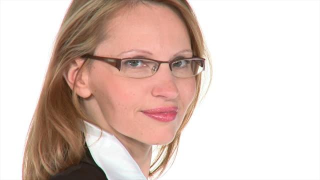 HD SLOW-MOTION: Confident Businesswoman video