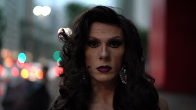 Confident Drag Queen Drag Queen morality stock videos & royalty-free footage