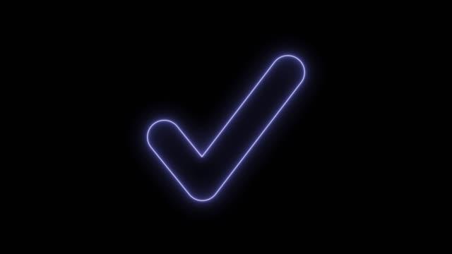 Confirm check symbol