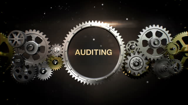 Connecting Gear wheels,  and make keyword,  'AUDITING' video