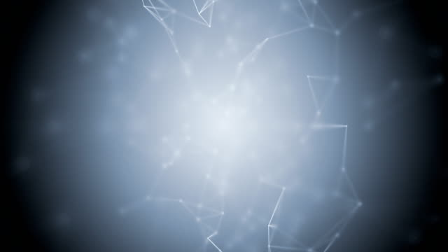 Connection Abstract web background. White lines and dots moving randomly on light gray/dark gray background. Seamless loop. chemical formula stock videos & royalty-free footage