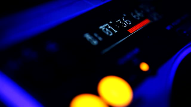DJ console video