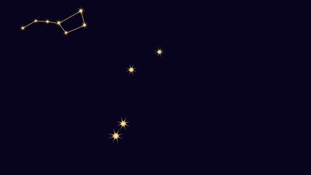 vídeos y material grabado en eventos de stock de constelaciones - constelación