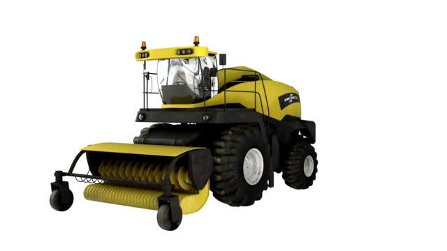 Construction Equipment Combine Harvester video