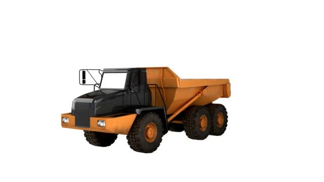 Camion à benne basculante Construction Equipment - Vidéo