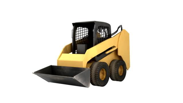 Construction équipement terre Mover - Vidéo