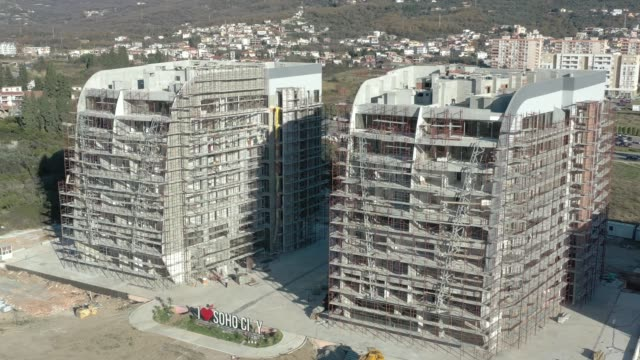 Construction of a residential complex