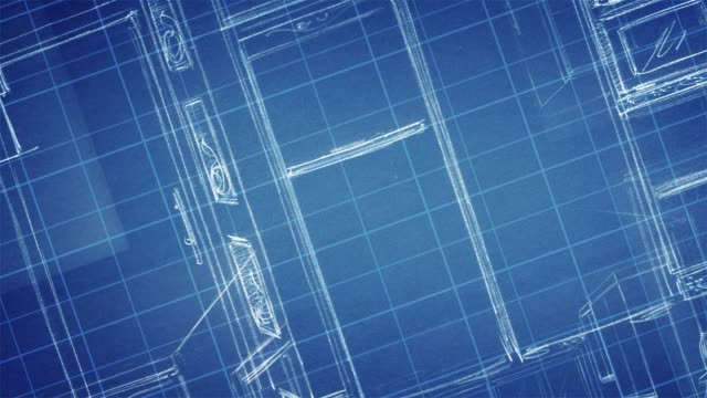 Royalty Free Blueprint HD Video, 4K Stock Footage & B-Roll - iStock