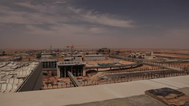 stockvideo's en b-roll-footage met bouwplaats, time lapse - riyad