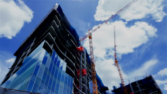Construction Site Time Lapse video