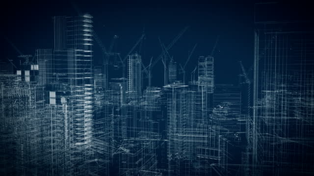 construction site construction site wireframe office illustrations videos stock videos & royalty-free footage