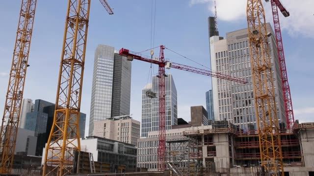 Construction Work in Metropolis Time Lapse