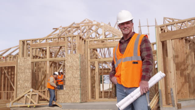 Construction worker video
