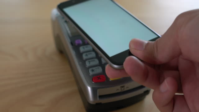 Contactless payment 4K video