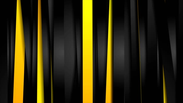 vergleichen sie orange und schwarzen streifen videoanimation - gelb stock-videos und b-roll-filmmaterial